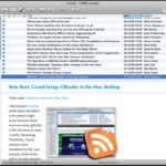 Google Reader Mac Application