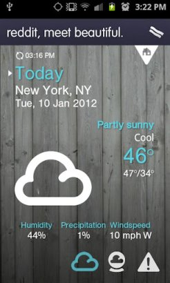 1weather best android weather app