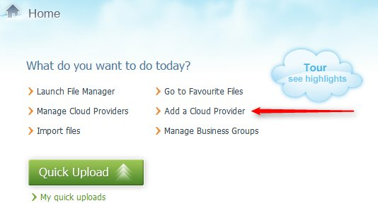 add cloud services
