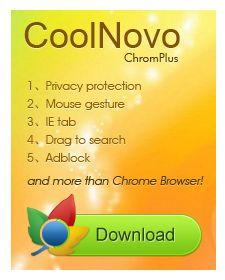coolnovo chrome alternative