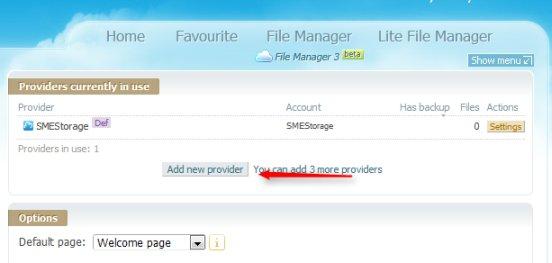 cloud service providers list