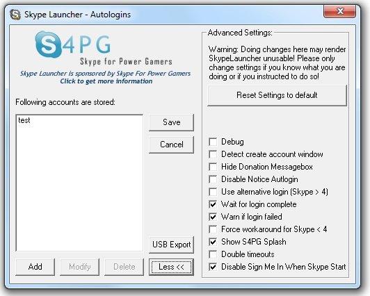 multiple skype launcher