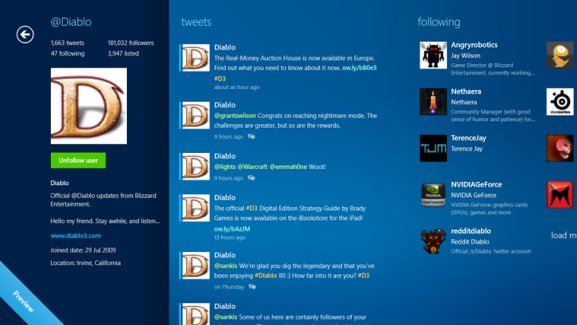 metrotwit for windows 8 os