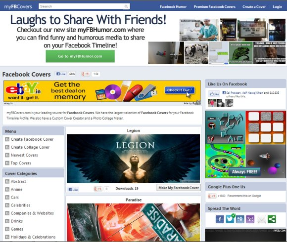 myfbcover free templates