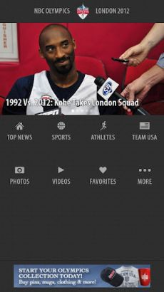 nbc olympics for android
