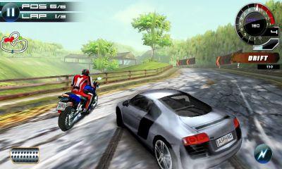 asphalt 5 samsung bada app