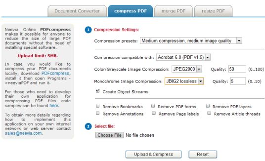 Websites to compress pdf online files and documents docupub compress pdf online ccuart Images