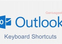 outlook.com shortcut keys
