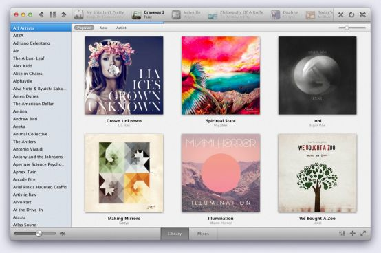 sonora for mac paid music player