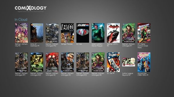 Read Comic Books on Windows 8 with ComiXology Free Comic Book Reader