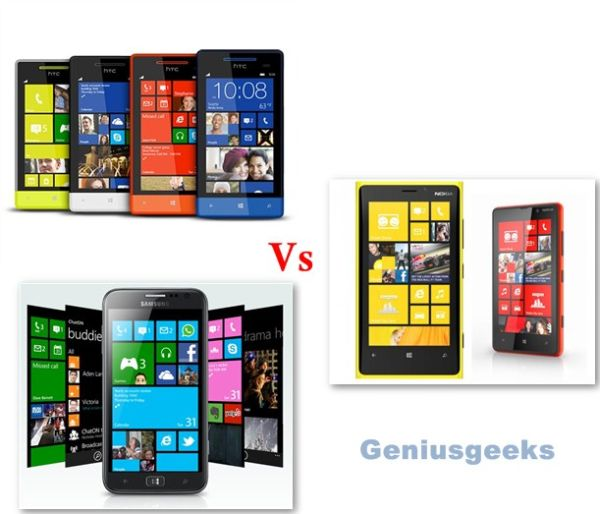 Comprehensive Collection of New Windows Phone 8 Handsets Unveiled in 2012