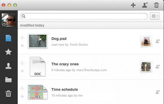 archy google drive client