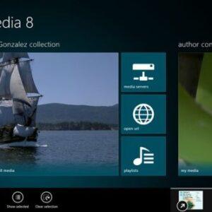 Multimedia 8 for Windows 8