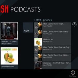 Podcast Player for Windows 8