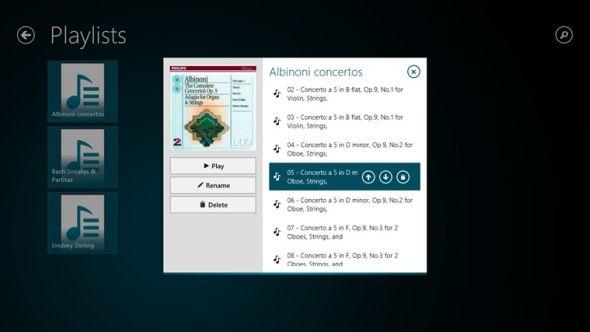 create playlist in windows 8