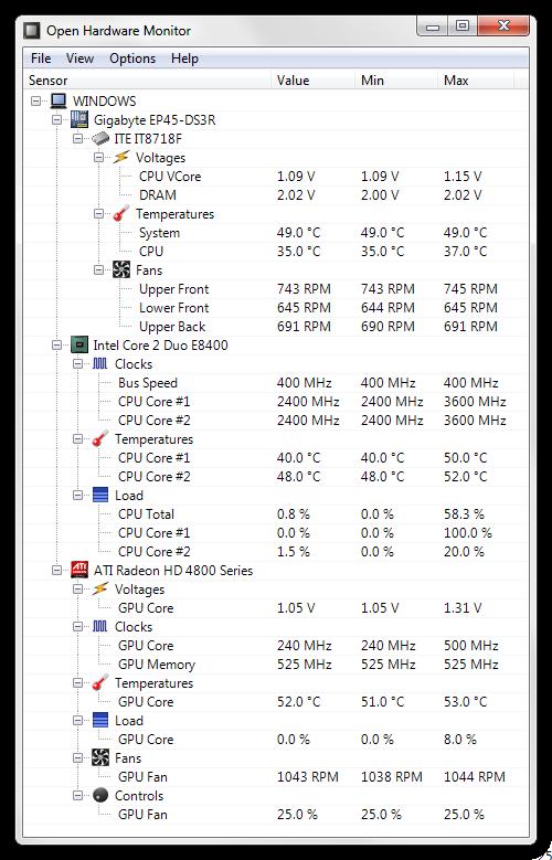 open hardware monitoring