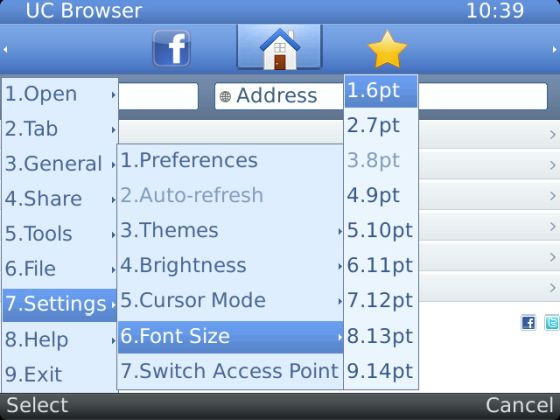uc browser feature