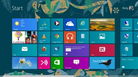 How to Customize Windows 8 Start Screen?