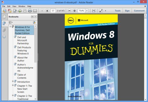 windows 8 dummies book