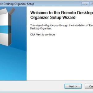 Remote Desktop Organizer
