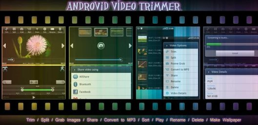 androvid video editing app