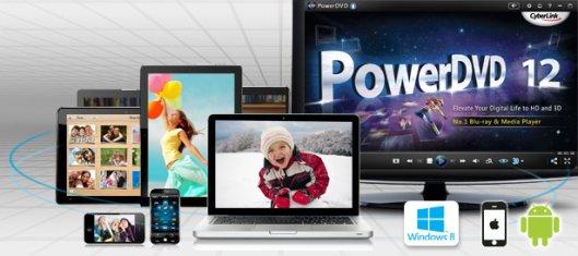 cyberlink powerdvd for windows 8