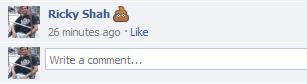 poop emoticon for facebook
