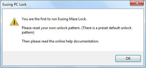 eusing pc lock
