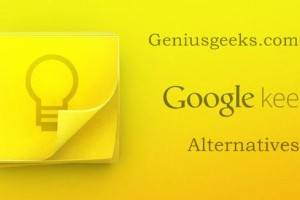 google keep alternatives