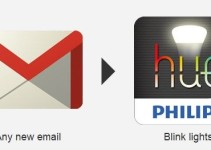 gmail to philips hue light