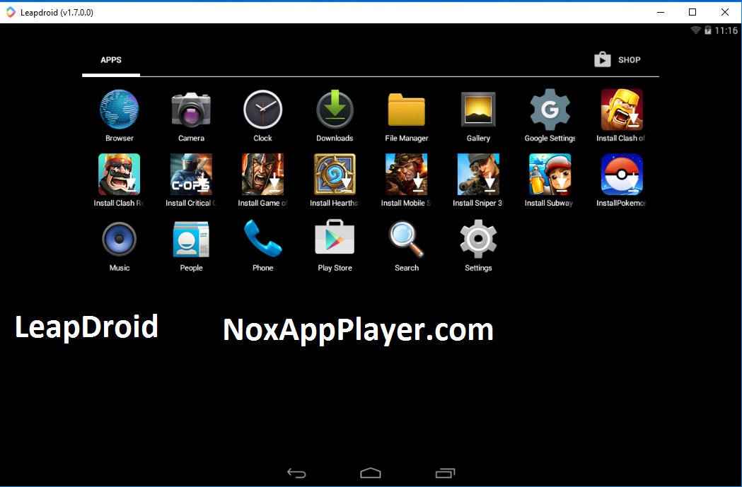 Leapdroid Download for Windows 7, 8 &10: Best Android Emulator Ever!