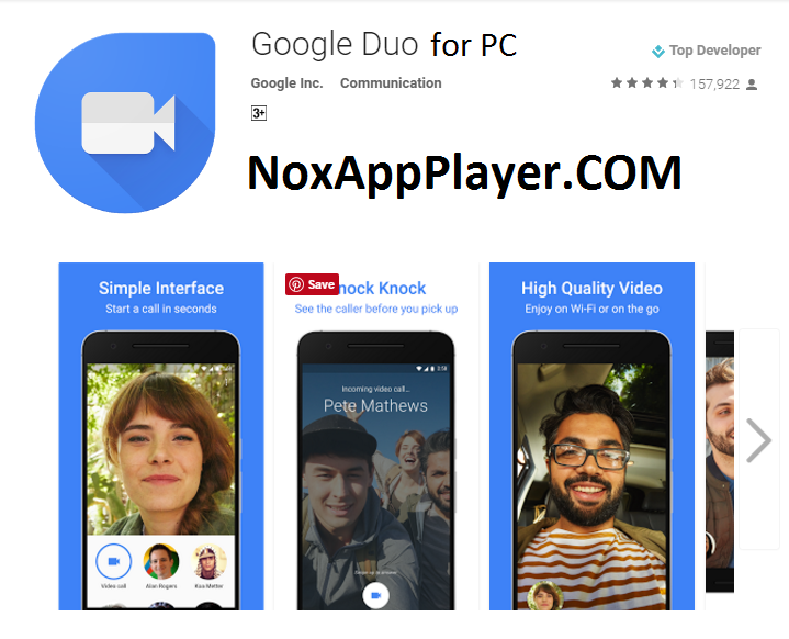 Google Duo PC Download
