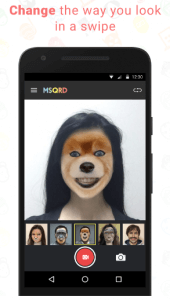 MSQRD Face Swap App for Android