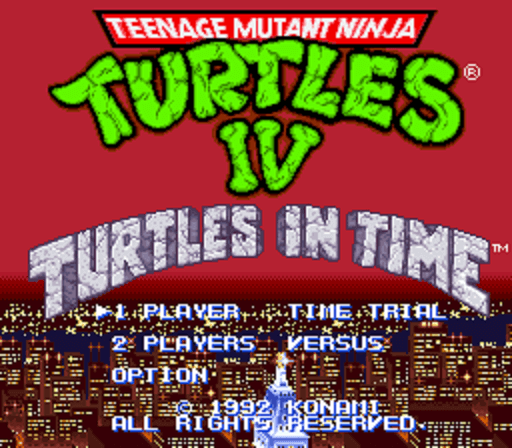 Teenage Mutant Ninja Turtles IV- Turtles in Time