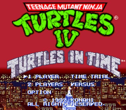 Teenage Mutant Ninja Turtles IV- Turtles in Time