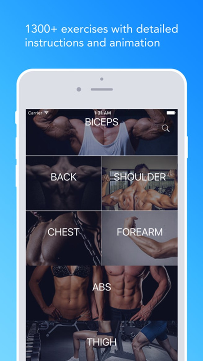 Jefit workout app for android and iphone