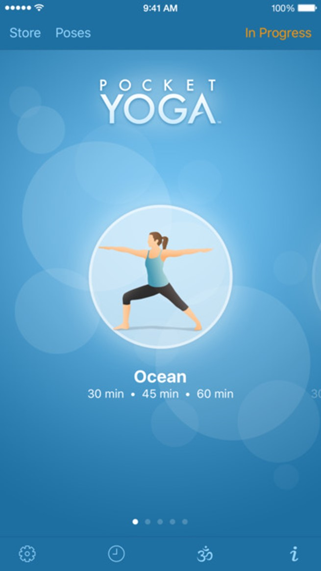 Pocket Yoga for android and iphone