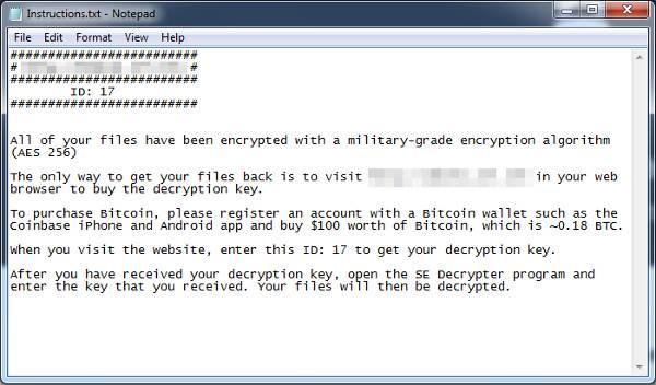 Netflix Ransomware File