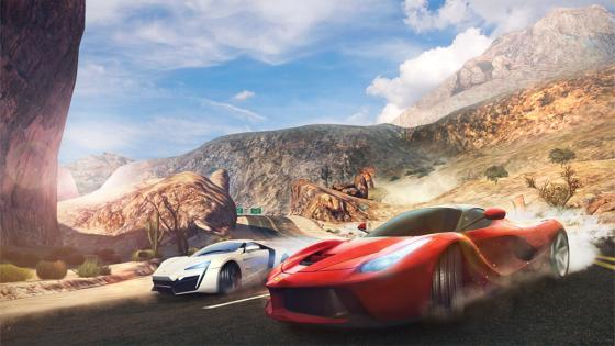 asphalt 8 best android multiplayer games