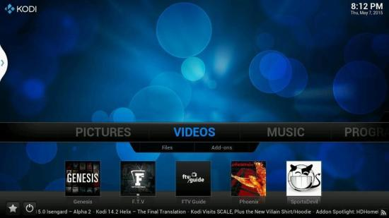 kodi hd video player for android