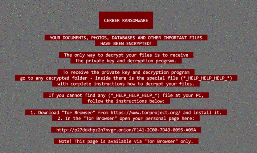 Nemucod Ransomware-as-a-Service Now Distributes Cerber Ransomware!