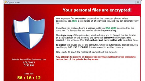 CryptoLocker Virus Removal Tool & Decryptor