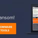 Free Ransomware Decryptors by Avast