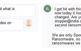 Spora Ransomware Support