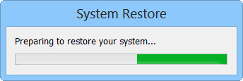 System restore for removal of Locky Ransomware