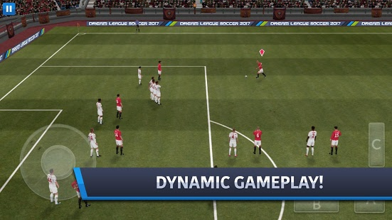 GamePlay of Dream League Soccer 2018