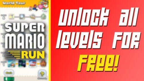 Super Mario Run Hack Unlock Levels Coins Free