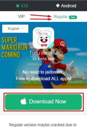 Hack Super Mario Run Using TuTuApp on iOS & Android for FREE!