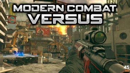 Modern Combat Versus Play Store