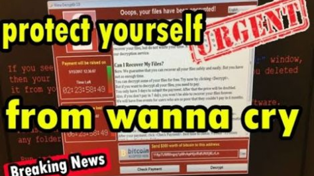 Protect from WannaCry Ransomware